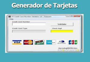 generador de tarjeta de crédito válido